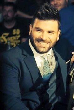 Pantelis Pantelidis!!! ❤️ Kostas Martakis, Greek Music, Suit And Tie, Beard Styles, Bearded Men, Beautiful Men, Handsome, Singer, Actors