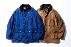 Barbour × BLUE WORK バブアー 別注
