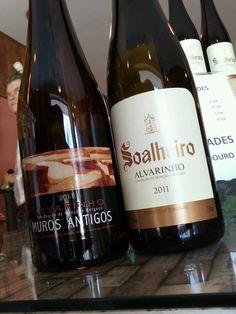Two Vinho Verde Alvarinho, special portuguese wines: Soalheiro and Muros Antigos. #wine