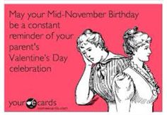 November birthdays..  think about it.