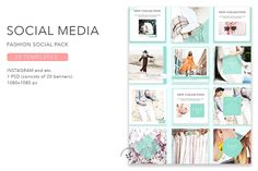 Instagram / Fashion Social Pack - Instagram - 1