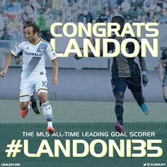 Landon Donovan sets the MLS goal scoring record and breaks 135