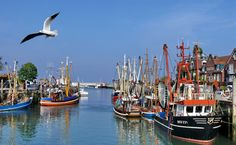 Neuharlingersiel- a little town in North Germany on the North Sea ^^