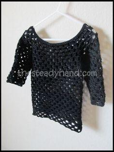 Free Crochet Pattern – 2T Crochet Tunic