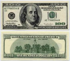 11 Best 100 dollar bill images | 100 dollar bill, 100 dollar