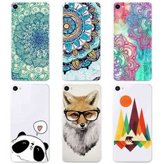 Silicone Cases for Meizu U10 Cover Case Transparent TPU Soft Cover Phone Case For Meizu U 10 Colorful Printing Back Fundas