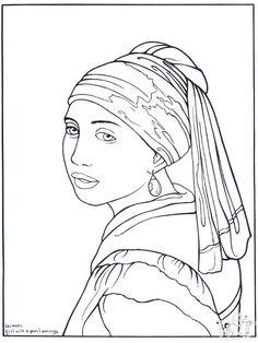 Seurat printables pinterest coloration c l bre for Seurat coloring pages