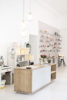 Neu eröffneter Showroom von feinedinge* . Fotografiert von Wiener Wohnsinn