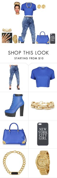 """""""like if do! thanks!"""" by dajanaswag09 ❤ liked on Polyvore featuring Glamorous, Slate & Willow, Philipp Plein, Marc by Marc Jacobs, Michael Kors and Susan Shaw"""