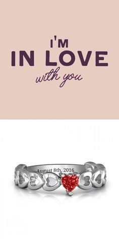 https://www.neatie.com/custom-engraved-enchanting-love-promise-ring ENCHANTING LOVE PROMISE RING This precious ring is the perfect way to make a promise! Featuring a shimmering heart-shaped centre stone and sweet heart detailing along the side, customise this piece with the birthstone of someone special. Choose your favourite metal, and engrave a special message inside the band to complete this one-of-a-kind #promisering. It makes a sparkling gift that will always be treasured by the one you…