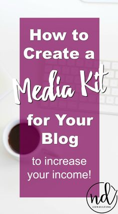 Learn how to create a blog media kit to increase income and save you time! via /ndcfullcircle/