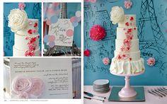 Pretty Parisian Cake
