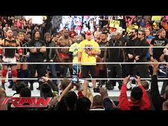 The Authority addresses the WWE roster: Raw, January 5, 2015 - YouTube