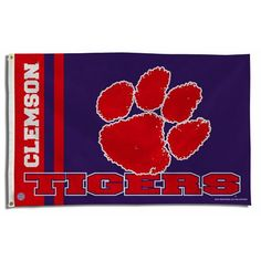 Clemson Tigers NCAA 3x5 Flag
