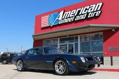 We finance! No credit needed! $49 down! Instant approval! 90% approval rating! 90 day option!  #USMags #Wheels Rambler in Textured Gray w/ Machined Lip on a 1975 #Pontiac #TransAm w/ Pro-Touring F-Body​ GT-Pro suspension, sub-frame connectores and solid body bushings. 18x8 front with 245/45-18 and 18x9.5 rear with 275/40-18 tires. #USMagsWheels #1975TransAm #PontiacTransAm #PTFB #ProTouringFBody #customwheels #Rims #AmericanWheelandTireHouston #AmericanWheelandTire…