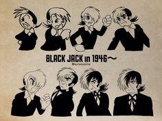 Black Jack Anime, Jack Black, Astro Boy, Manga Artist, Kuroo, Manga Characters, Amazing Art, Comic Art, Anime Art