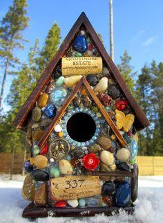 Awesome Bird House Ideas For Your Garden 72