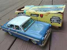 PRINCE Skyline Deluxe Bandai metal Toy Vintage W/Box 1960s RARE Japan $750.00Approx NOK6,088.85