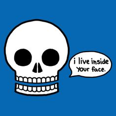 LOL!  | I Live Inside Your Face! | Comic by Natalie Dee @Sharing Machine