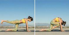 Best yoga move to strengthen abs and back muscles - beginner intermediate and advanced versions Yoga Bewegungen, Sup Yoga, Yoga Moves, Jiu Jitsu, Yoga Fitness, Health Fitness, Learn Yoga, Flexibility Workout, Back Muscles