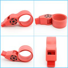 Slap Silicone Band with Whistle