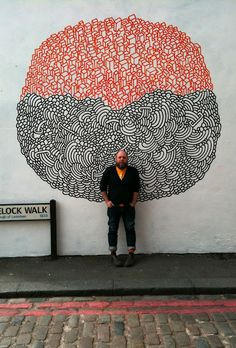 mural by supermundane. love the shapes
