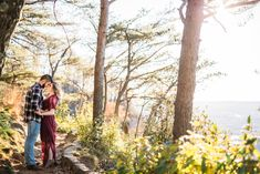 Julia Fenner | LeggyBird Photography  Will & Jade's Engagement at Sunset Rock, Chattanooga TN