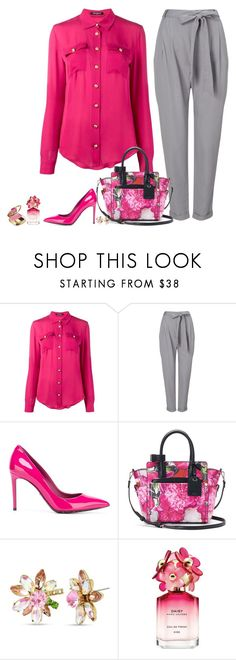 """""""Set 1917"""" by lapshi4ka ❤ liked on Polyvore featuring Balmain, Phase Eight, Dolce&Gabbana, Reed, Betsey Johnson and Marc Jacobs"""