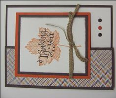 Magnificent Maple by starzlmom28 - Cards and Paper Crafts at Splitcoaststampers