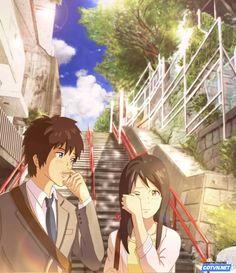 Rớt nước mắt với bộ ảnh Ngày đoàn tụ của Taki và Mitsuha | Cotvn.Net