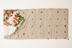 Make This Anthropologie Sleeping Bag for Your Next Sleepover via Brit + Co