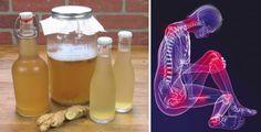 Acqua allo zenzero contro mal di testa e dolori articolari   Rimedio Naturale