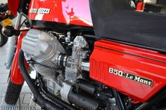 This 1977 850 Lemans was completely restored by BCI Motorbikes.