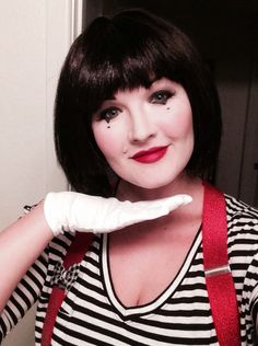 cute mime makeup for halloween - Mime For Halloween