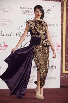 Algerian fashion: Sequined karakou