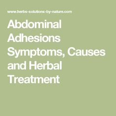 Dr daniel kruschinski adhesion pictures and information anything abdominal adhesions symptoms causes and herbal treatment fandeluxe Image collections