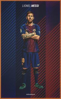 Lionel Messi of Barcelona wallpaper. Lionel Messi, Messi 10, Barcelona Fc Logo, Barcelona Football, World Football, Football Players, Neymar, Soccer Online, Messi Soccer