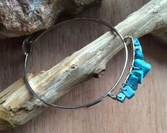Great gift for sthnic lovers. Amazing silver bracelet with turquoise – a unique product by Kalasa-suzan via en.DaWanda.com