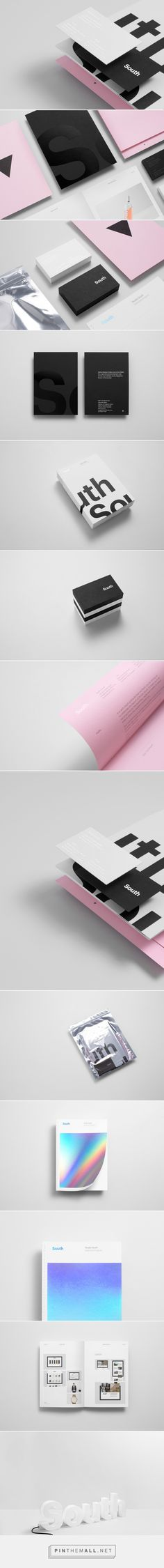 New Brand Identity for Studio South — BP&O - created via http://pinthemall.net