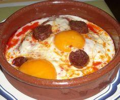 Huevos con chorizo http://www.recetasdiarias.com/wp-content/uploads/2010/01/huevos-al-plato.jpg
