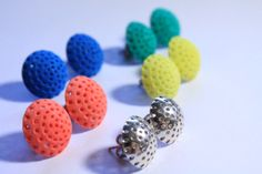 3d printed earrings Ear Lollie'drops'