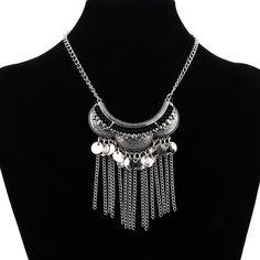 3U Zaz Tassel Chain Necklace