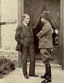 Ataturk and Inonu. Turkic Languages, Ottoman Turks, Republic Of Turkey, Turkish Army, The Turk, Great Leaders, Ottoman Empire, Historical Pictures, Revolutionaries