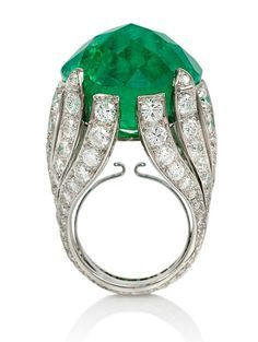 emerald cocktail rings - Google Search