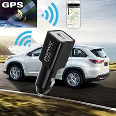 GBSELL Mini Portable Car Charger GPS Locator GSM GPRS Real Time Tracking Device Black. For product info go to:  https://all4hiking.com/products/gbsell-mini-portable-car-charger-gps-locator-gsm-gprs-real-time-tracking-device-black/