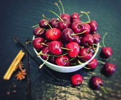 Cherry, Fruit, Food, Summer, Flowers, Syrup, Summer Time, Essen, Meals