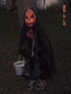 Halloween Headless Horseman kid costume & DIY // Headless Horseman Costume from MichaelsMakers The Design ...