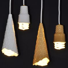 Ice cream lamps