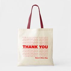 Shop Funny Thank You Design Tote Bag created by niffx. Thank You Bags, Funny Thank You, Custom Tote Bags, Custom Totes, Bag Quotes, Marca Personal, Cloth Bags, Canvas Tote Bags, Reusable Tote Bags