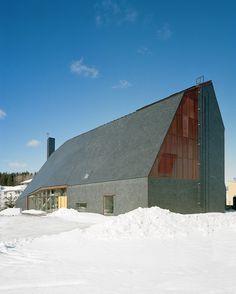 Kuokkala Church – Lassila Hirvilamm Architects: Lassila Hirvilammi Architects Location: Jyväskyla, Finland Chief Architect: Anssi Lassila Interior Architect: Teemu Hirvilammi On Site Architect: Jani Jansson